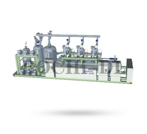 半封闭变频CO₂复叠机组