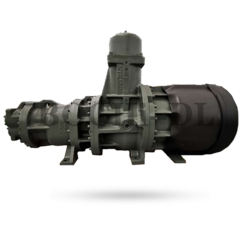 甘肃iZα 系列半封闭变频双级螺杆冷冻机