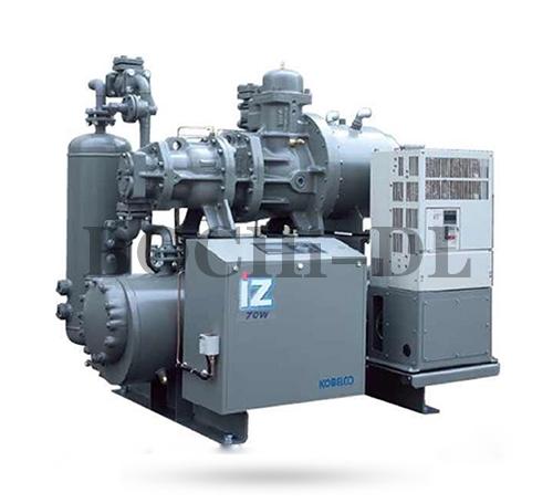 甘肃iZα 系列半封闭变频双级螺杆冷冻机组